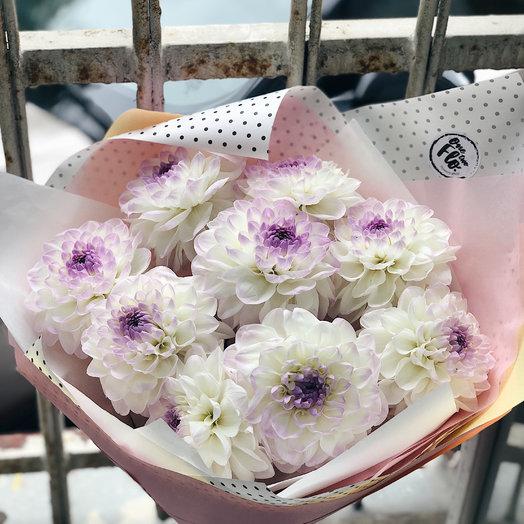 Облако дахлий : букеты цветов на заказ Flowwow