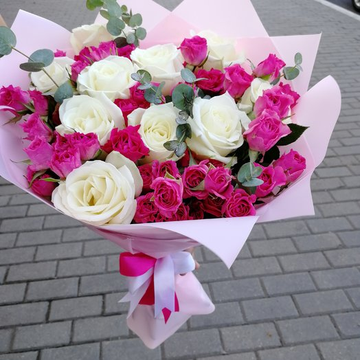 """""""Чистая лазурь """": букеты цветов на заказ Flowwow"""