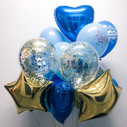 Фонтан из шариков «Настроение»: букеты цветов на заказ Flowwow