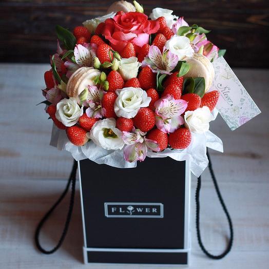 Шляпная Коробка Изобилие: букеты цветов на заказ Flowwow