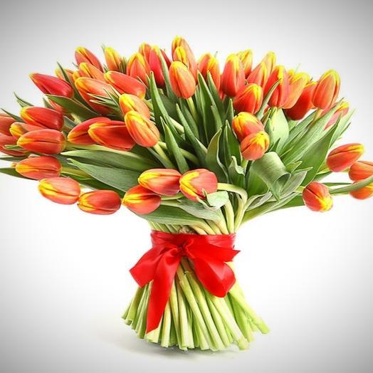 """""""ORANGE-YELLOW"""": букеты цветов на заказ Flowwow"""
