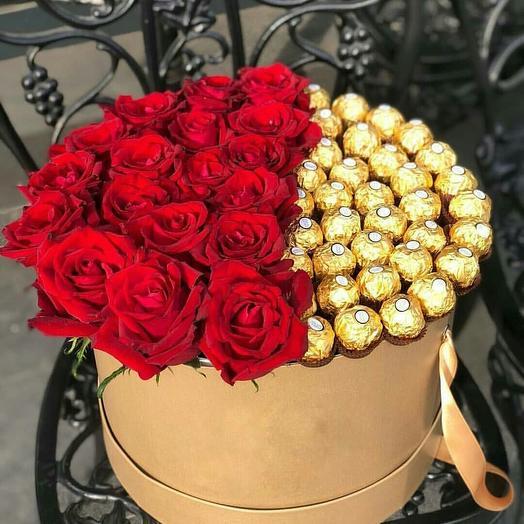 Шикарная композици для любимой: букеты цветов на заказ Flowwow