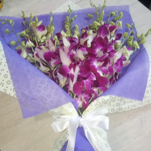 Орхидеи 9: букеты цветов на заказ Flowwow