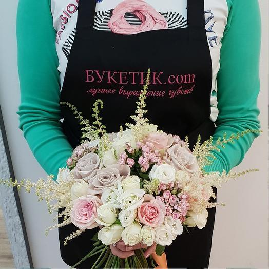 Букет номер 4: букеты цветов на заказ Flowwow