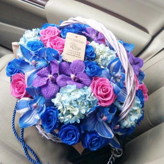 Восточная сказка: букеты цветов на заказ Flowwow