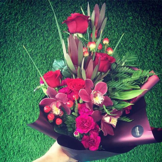 Мужской: букеты цветов на заказ Flowwow