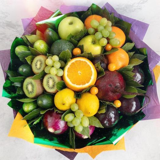 Фруктовый букет «краски»: букеты цветов на заказ Flowwow