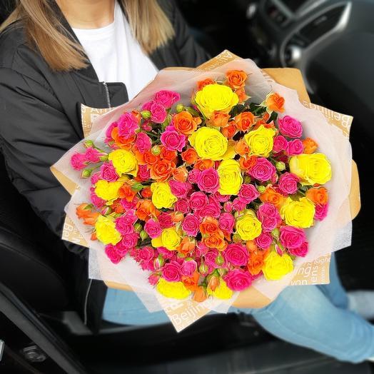 Весеннее настроение Z1: букеты цветов на заказ Flowwow