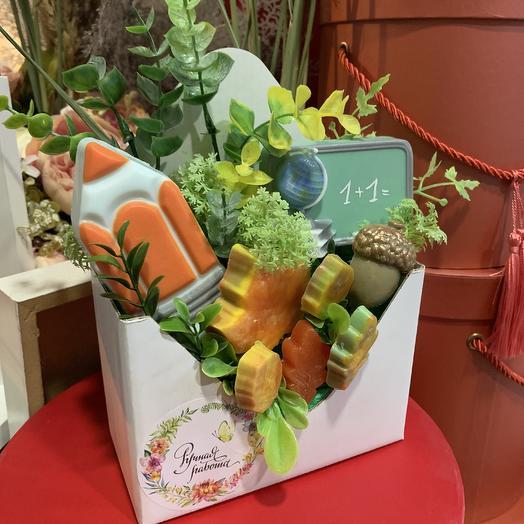 Мыльные наборы для учителя: букеты цветов на заказ Flowwow