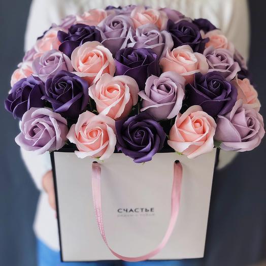 Черничные ночи: букеты цветов на заказ Flowwow