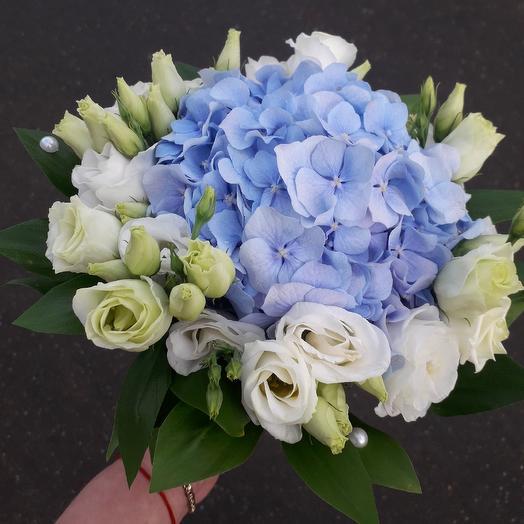 """Букет невесты """" Нежный голубой"""". Доступен к предварительному заказу за неделю до события"""