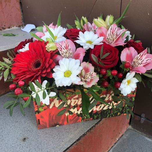 Цветы Любимой Мамочке