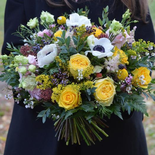 "Букет цветов ""Лунный блеск"": букеты цветов на заказ Flowwow"