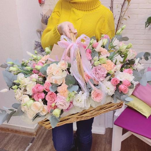 Корзинка лета: букеты цветов на заказ Flowwow