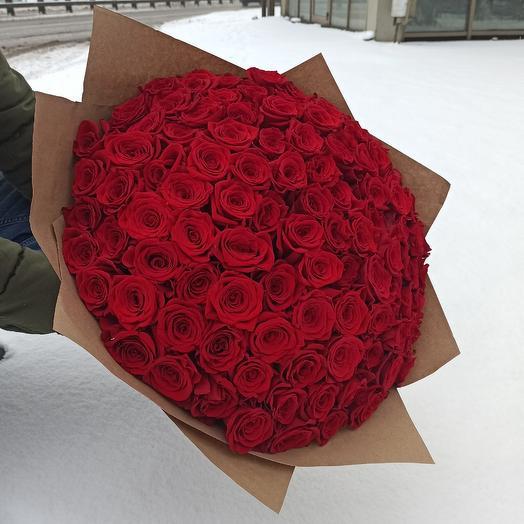 75 VIP роз для любимой