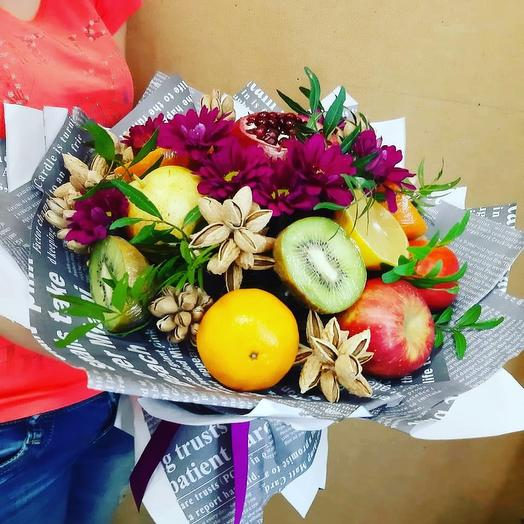 Фруктово-цветочно-ореховый