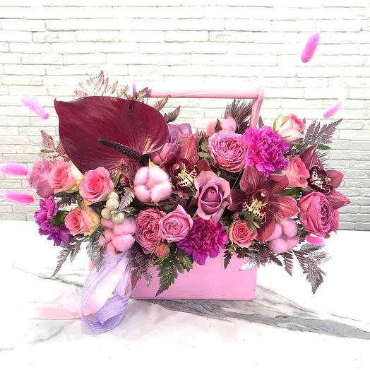 Ягодное ассорти: букеты цветов на заказ Flowwow