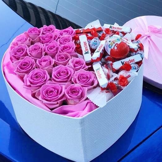 К 14 февраля: букеты цветов на заказ Flowwow