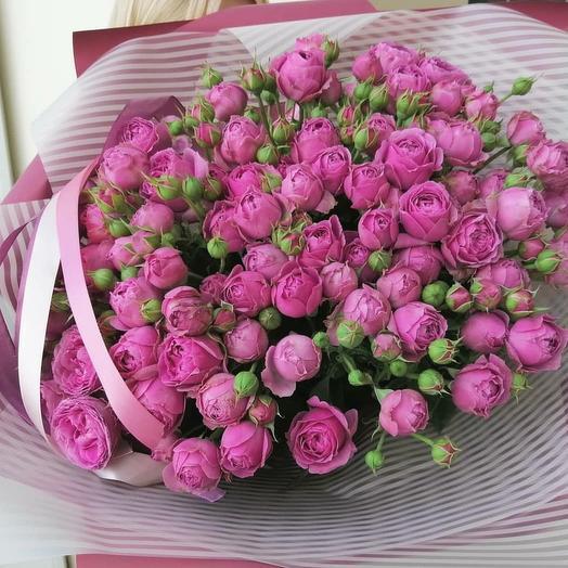 Розовая долина: букеты цветов на заказ Flowwow