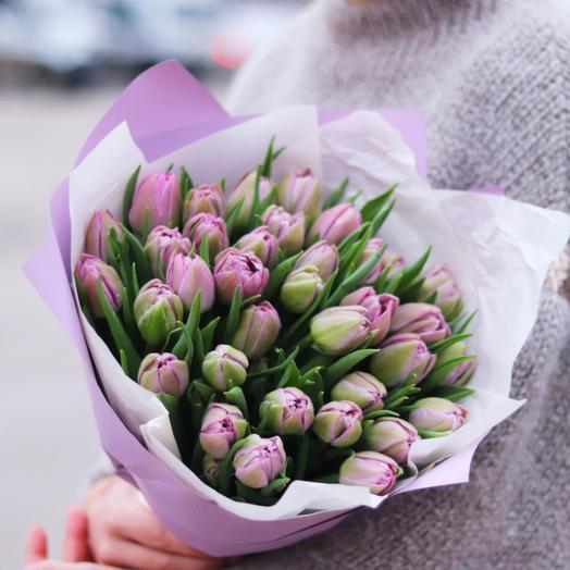 Тюльпаны пионовидные 25 штук