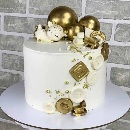 Торт с Оленёнком