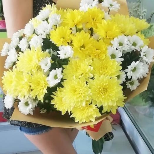 Букет шикарных хризантем