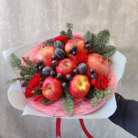 Букет из фруктов «Румянец»