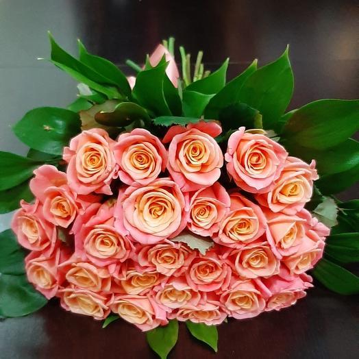 25 коралловой розы
