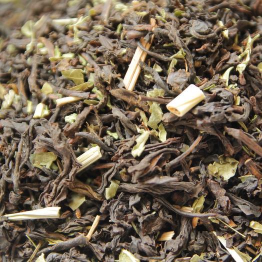 Чёрный чай с мятой
