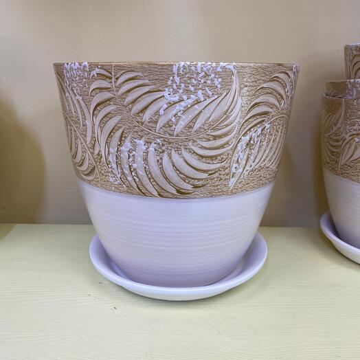 Горшок керамический d 21 см