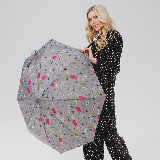 Складной женский зонтик 102136