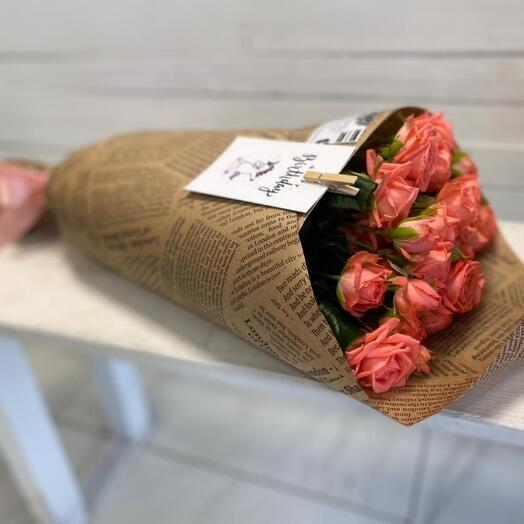 Bouquet in crafting