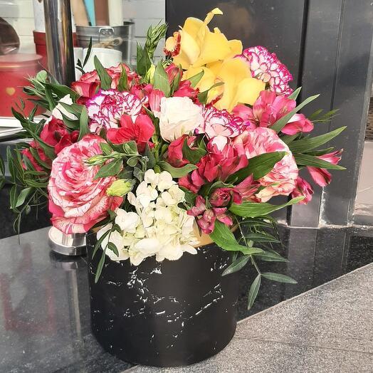 Цветы в коробке(Елена)