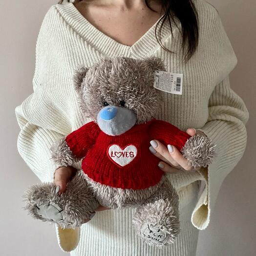 Медведь ( серый в свитере)