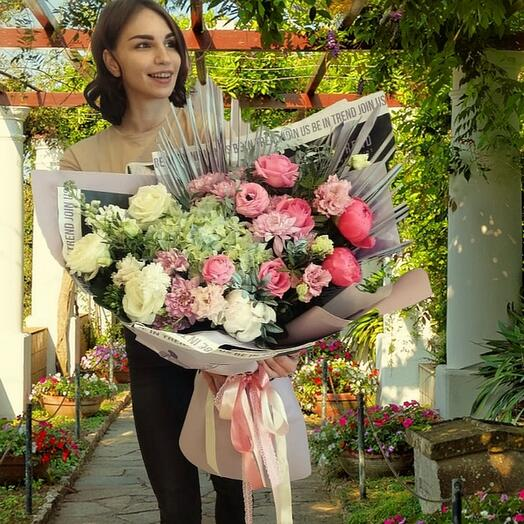 "Bouquet "" Paradise Garden"""