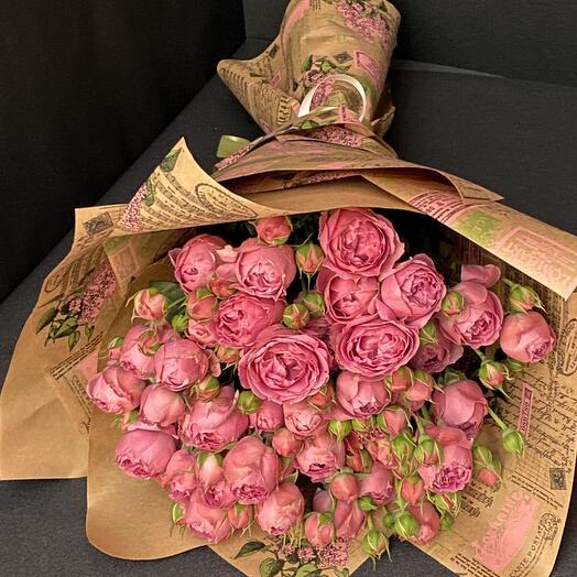 Пионовидная роза Мисти Бабблз