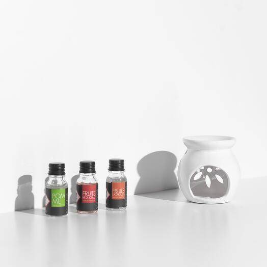 Набор ароматических масел+ аромалампа 3