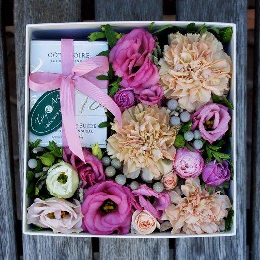 Многогранность пудры: букеты цветов на заказ Flowwow