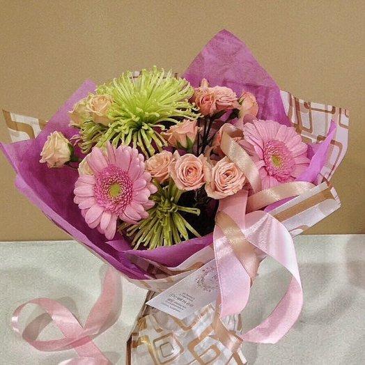 Букет Pink: букеты цветов на заказ Flowwow