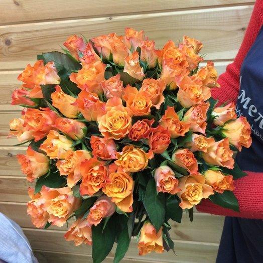 Orange tea: букеты цветов на заказ Flowwow
