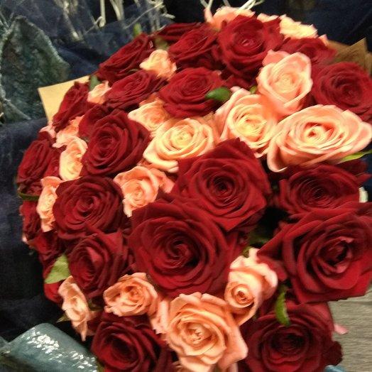 "Букет ""для любимой...."": букеты цветов на заказ Flowwow"