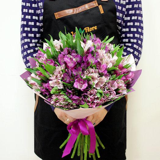 Лиловый цвет: букеты цветов на заказ Flowwow