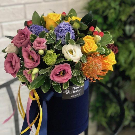 Экзотическая композиция: букеты цветов на заказ Flowwow