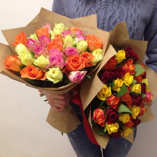 Букет 8 или 9: букеты цветов на заказ Flowwow