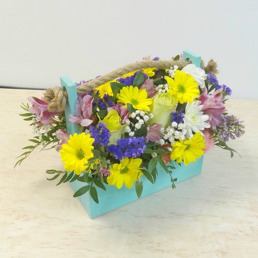 Ящик 6: букеты цветов на заказ Flowwow