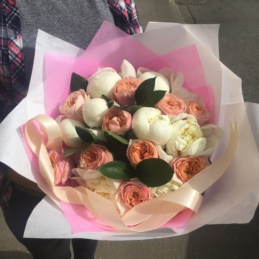 Розовый Манхэттен: букеты цветов на заказ Flowwow