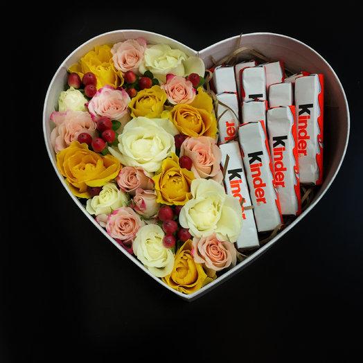 «Радость»: букеты цветов на заказ Flowwow