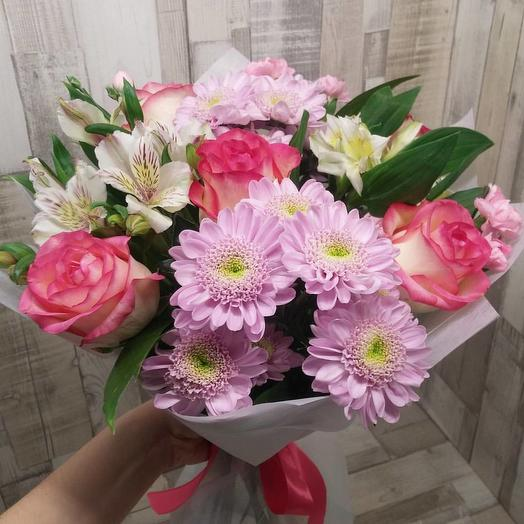 Нежные чувства: букеты цветов на заказ Flowwow
