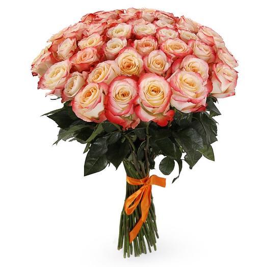 "Букет из 51 розы ""Кабаре"": букеты цветов на заказ Flowwow"