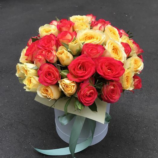 Радостный букет: букеты цветов на заказ Flowwow